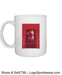 Actress mug with drapes Design Zoom