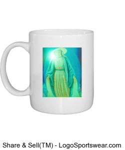Mother Mary Green Design Zoom