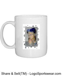 Actress Gray Dots Design Zoom