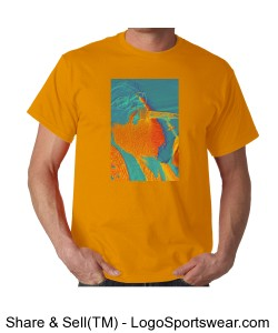 R. Stevie Moore Orange Design Zoom