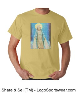 Mother Mary for to wear to church Design Zoom